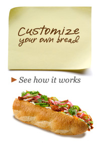 Customize Your Own Bread - See how it all works